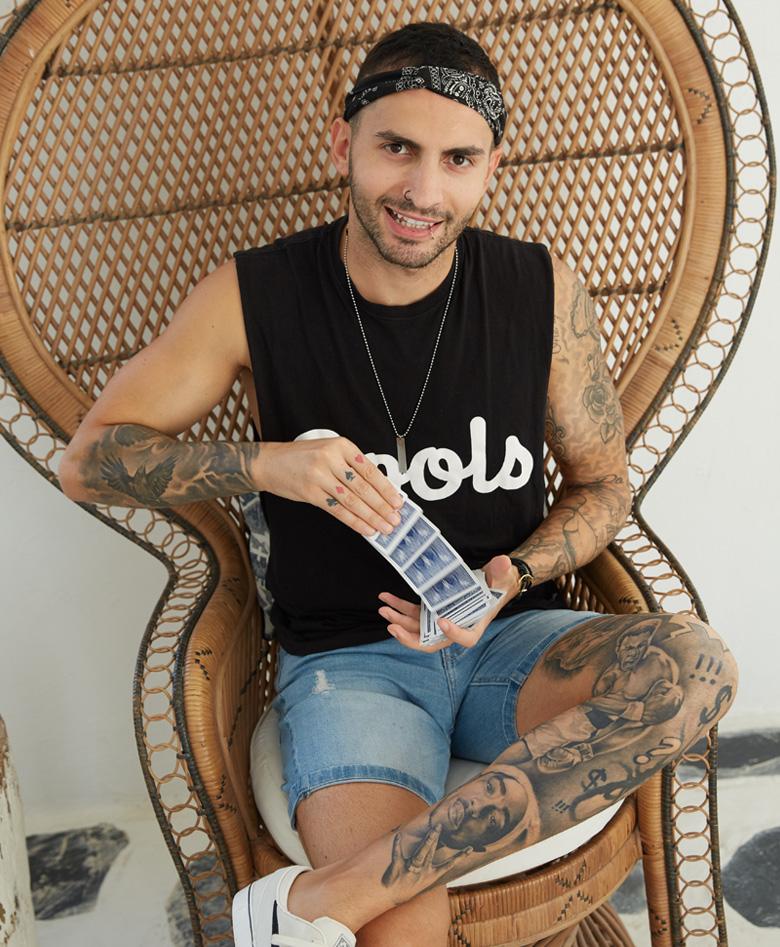 Ramy, 27 | Lebanese | Magician