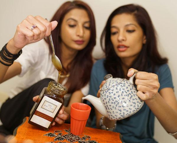 Arva Ahmed and Farida Ahmed